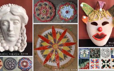 Arte decorative – Ceramică, Design Vestimentar, Textile