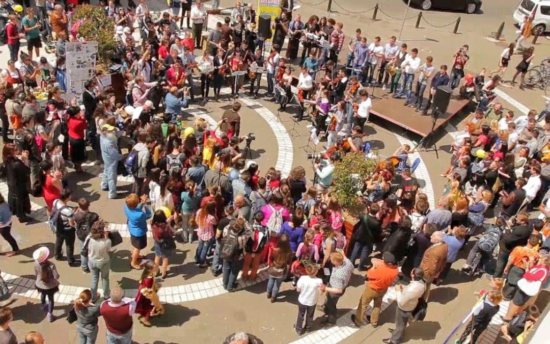 Flash Mob – Ziua Europei Oradea 2014